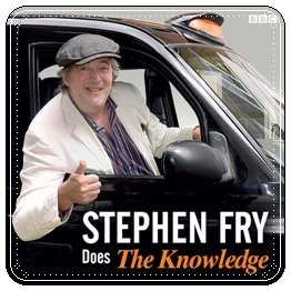 Fry_Stephen Fry Does the Knowledge