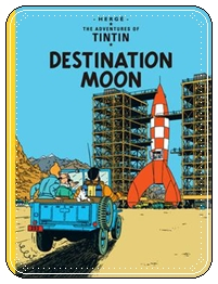 Herge_Destination Moon