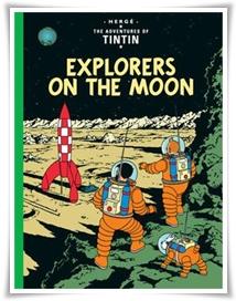 Herge_Explorers Moon