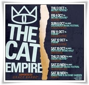 Cat Empire_Stolen Diamonds Tour