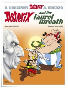 Goscinny_Uderzo_Asterix Laurel Wreath