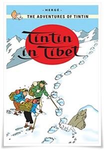 Herge_Tintin in Tibet