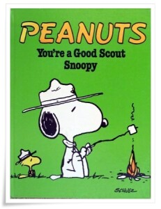 Schulz_You're a Good Scout Snoopy